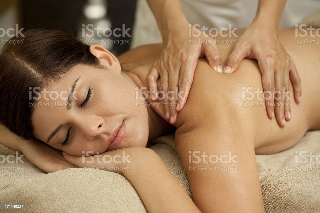 Spa Massage XXXL stock photo