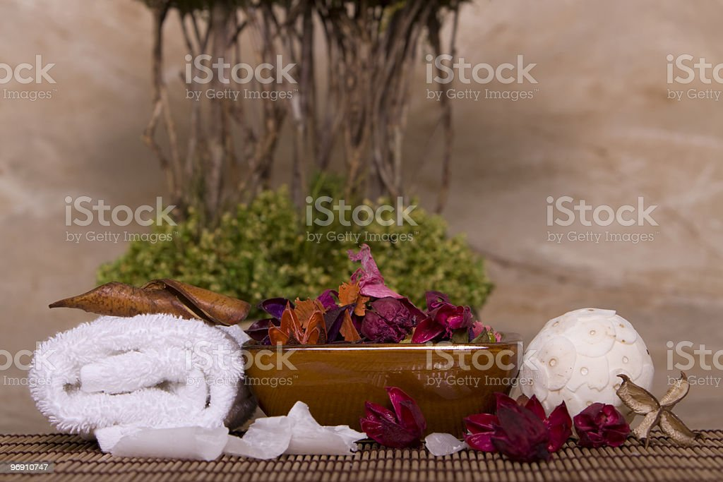 Spa objects royalty-free stock photo