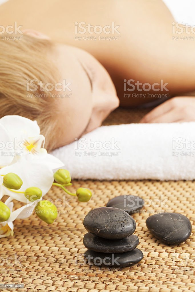 Spa relax royalty-free stock photo
