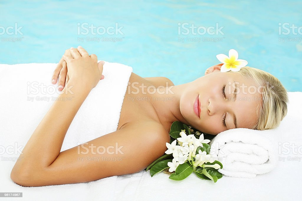 Spa e relax foto stock royalty-free