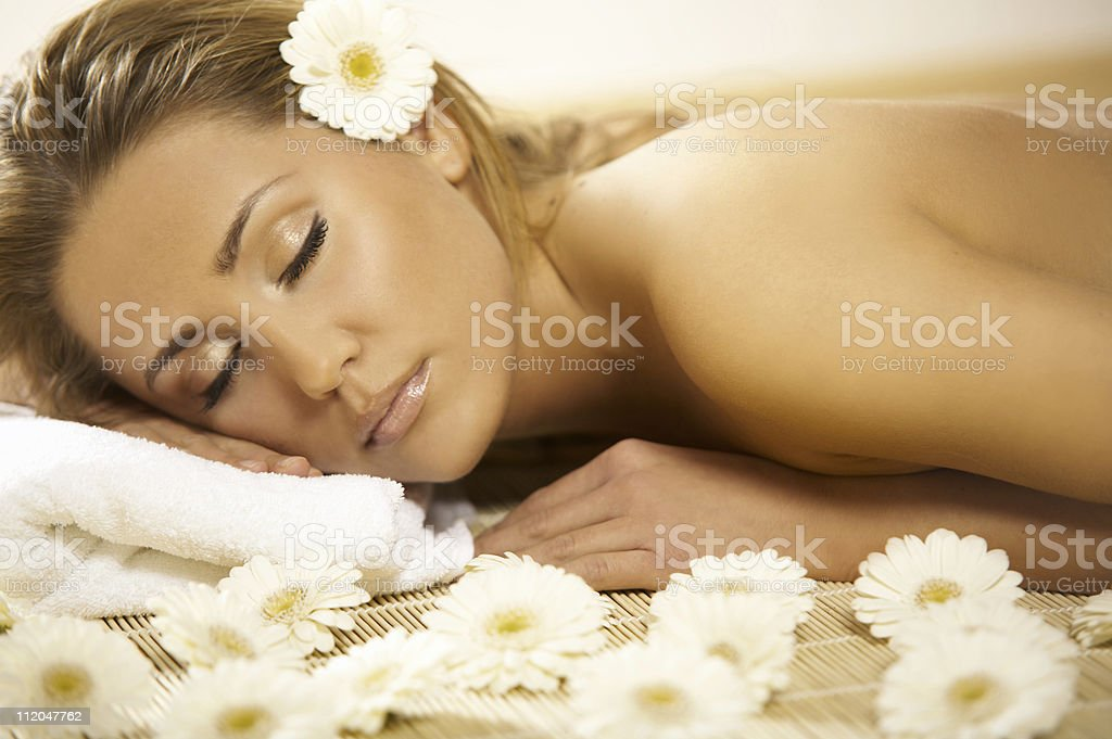 Spa Relaxing V royalty-free stock photo