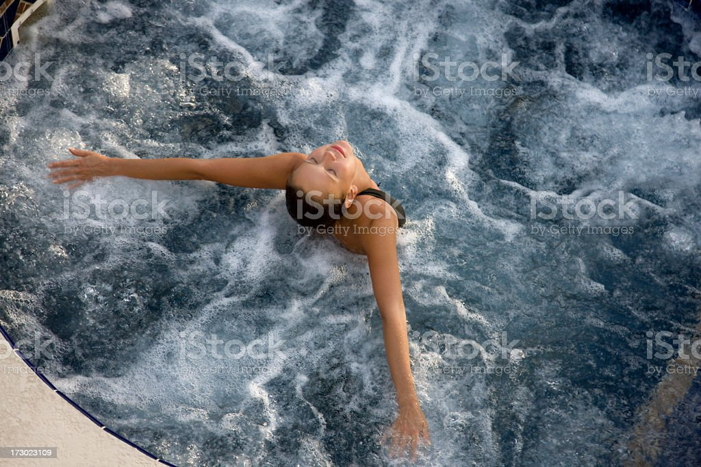 spa relief royalty-free stock photo
