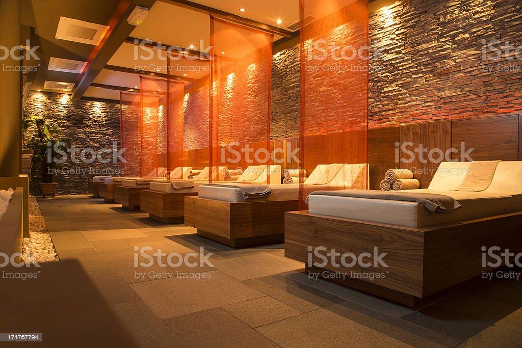 Spa Room stock photo