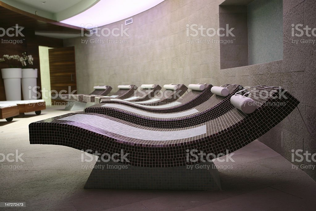 Prime Spa Room With Lounge Chairs For Relaxing Stock Photo Machost Co Dining Chair Design Ideas Machostcouk