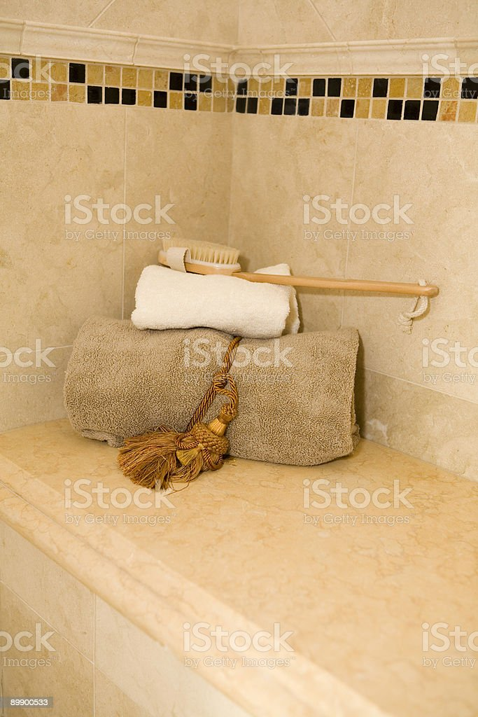 Spa Shower royalty-free stock photo