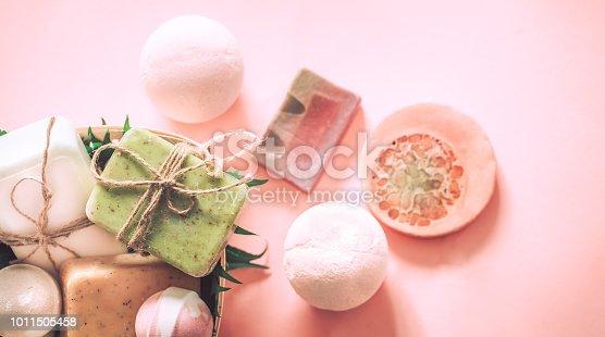 656780900istockphoto spa soap with salt bombs 1011505458