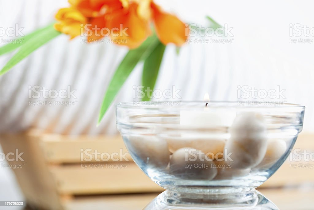 Spa Still Life royalty-free stock photo