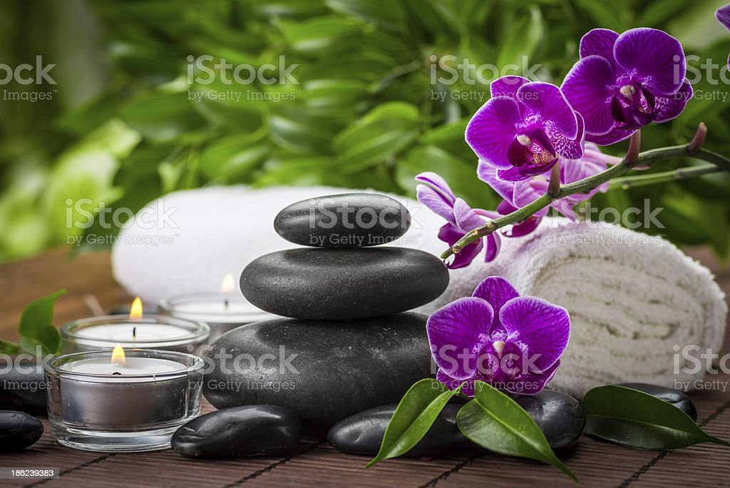spa still life royalty-free stock photo