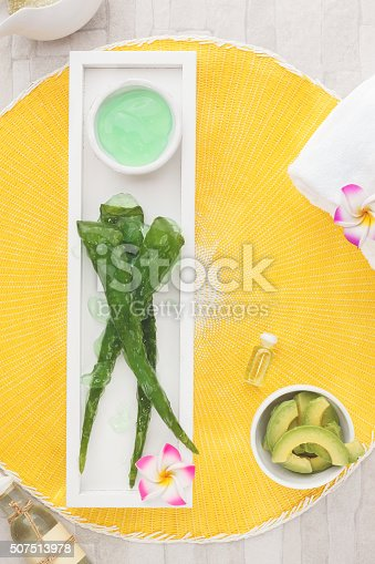 istock Spa still life with fresh natural ingredients 507513978