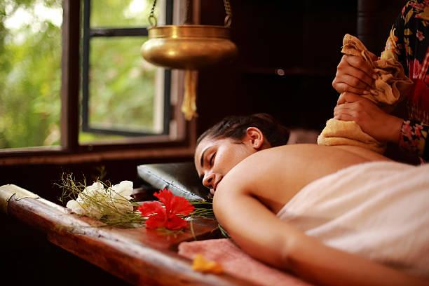 Spa Therapist Treating - Photo