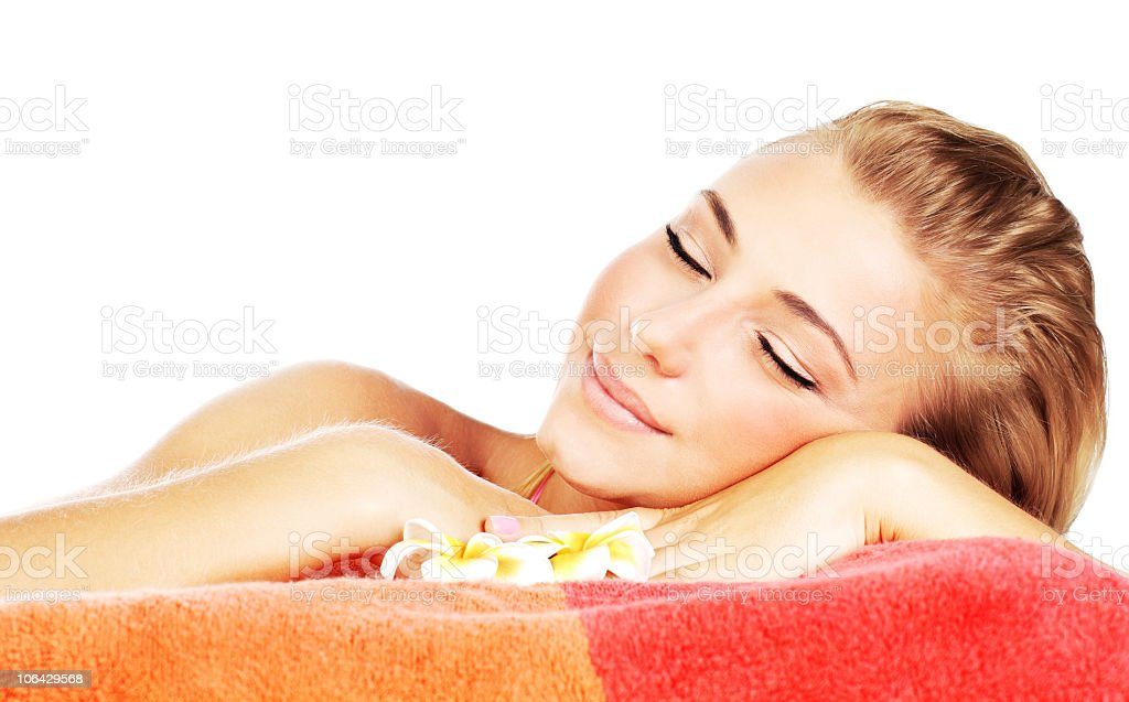 Spa therapy royalty-free stock photo