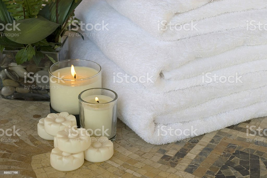 spa towels 3 royalty-free stock photo