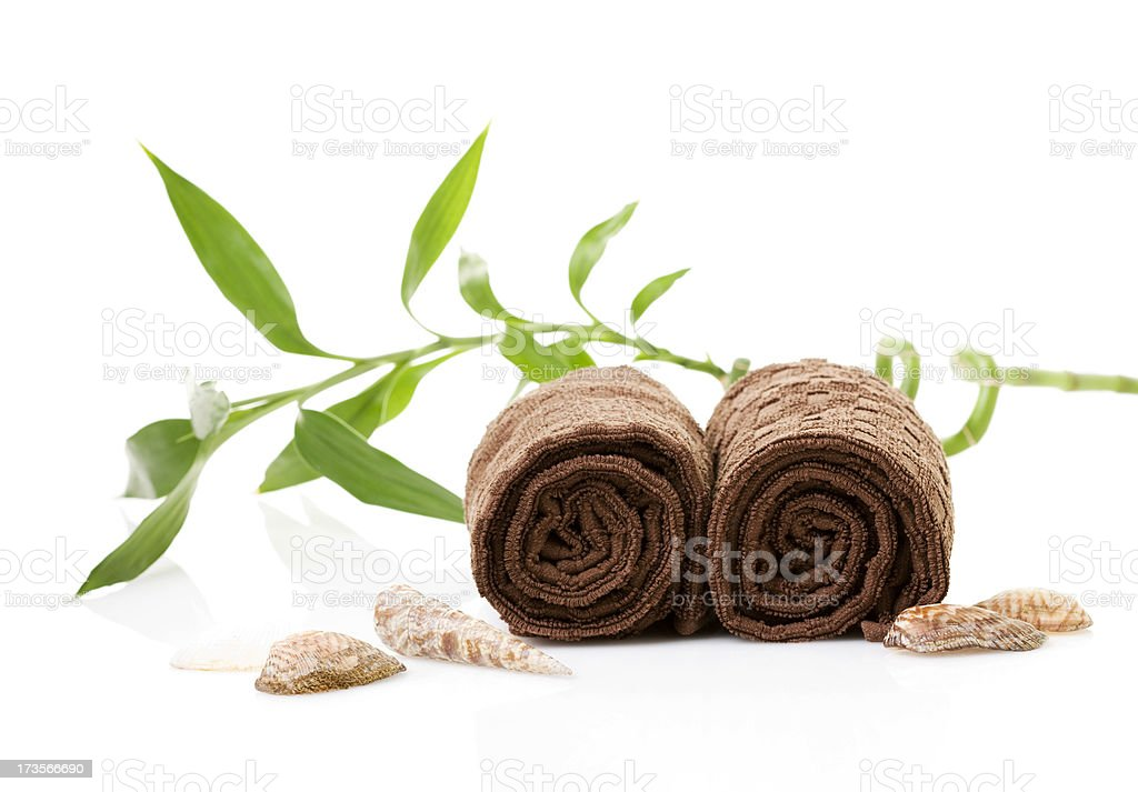 Spa Towels (XXL) royalty-free stock photo