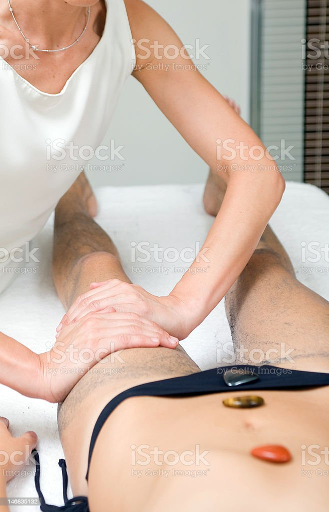 spa treatament royalty-free stock photo