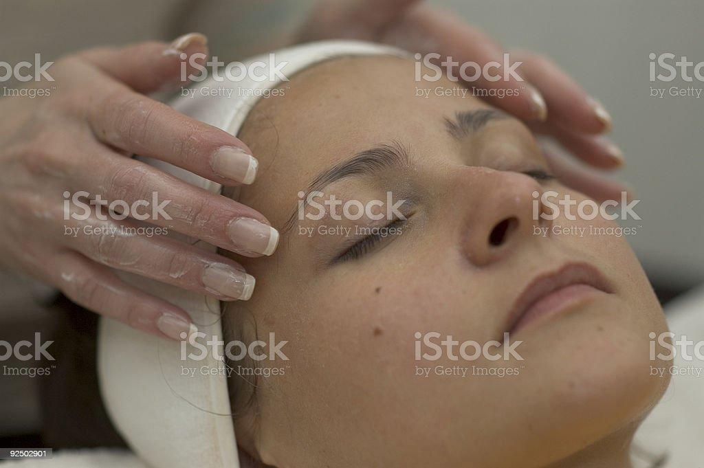 spa treatment 4 royalty-free stock photo