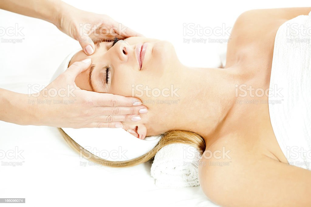 Spa treatment and massage royalty-free stock photo