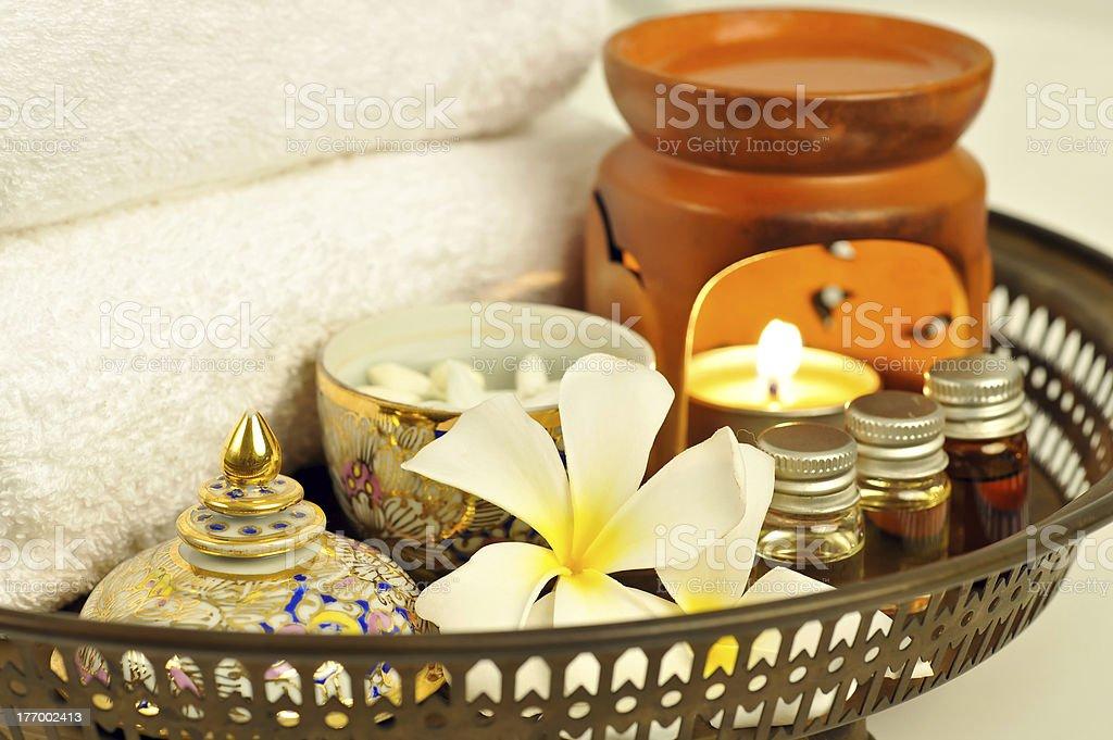 Spa Treatment and Thai Massage royalty-free stock photo