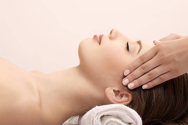 Head Massage Stock Photos, Pictures & Royalty-Free Images