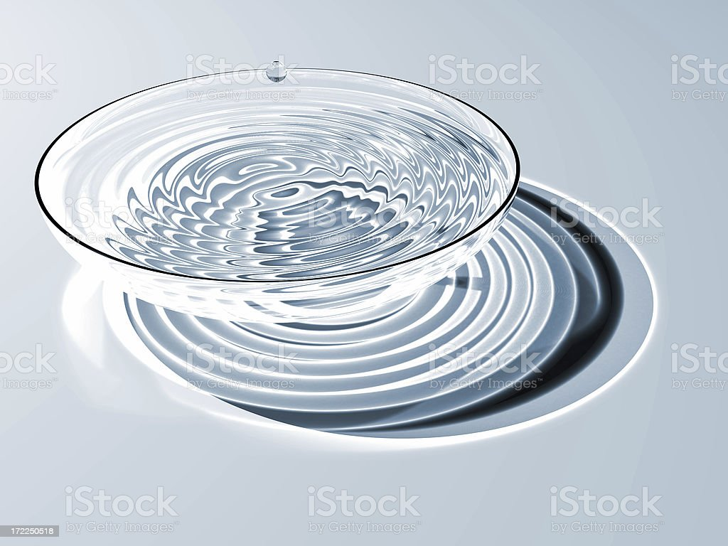 Spa water stock photo