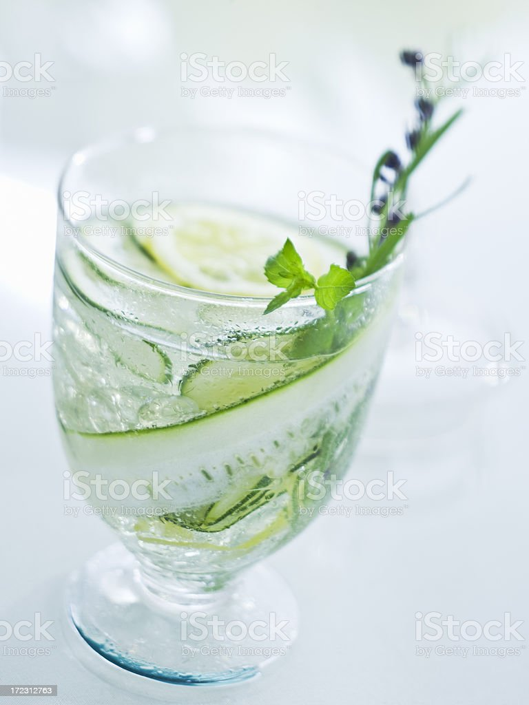 spa water royalty-free stock photo
