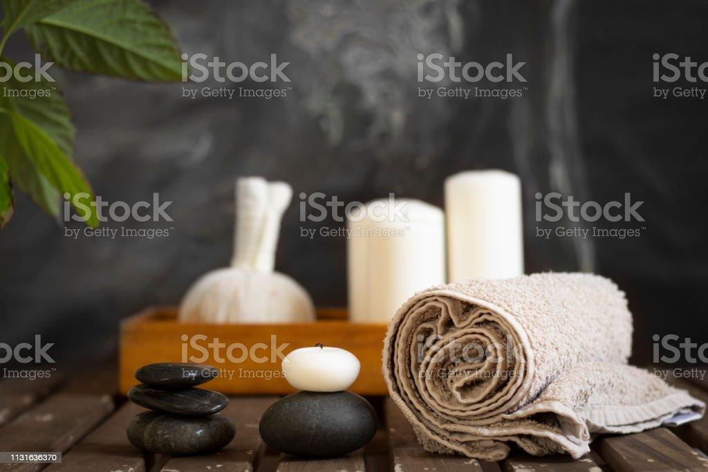 Wellness-Objekte Anordnung – Foto