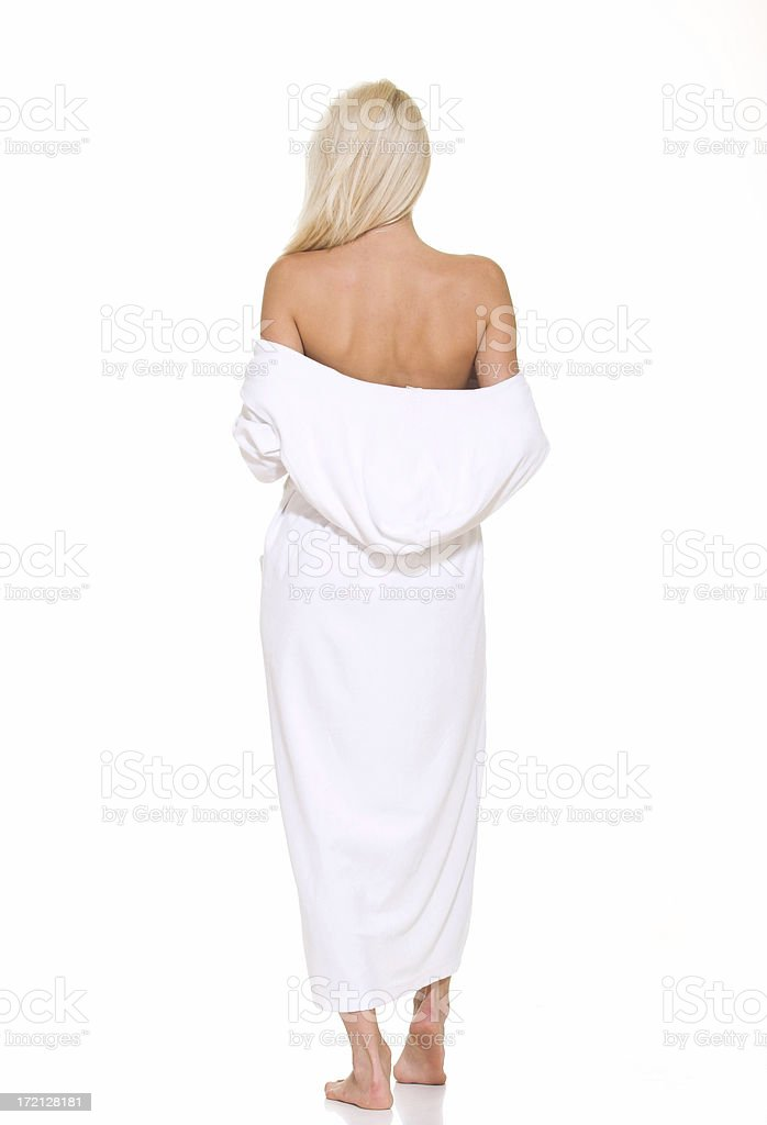 Spa woman royalty-free stock photo