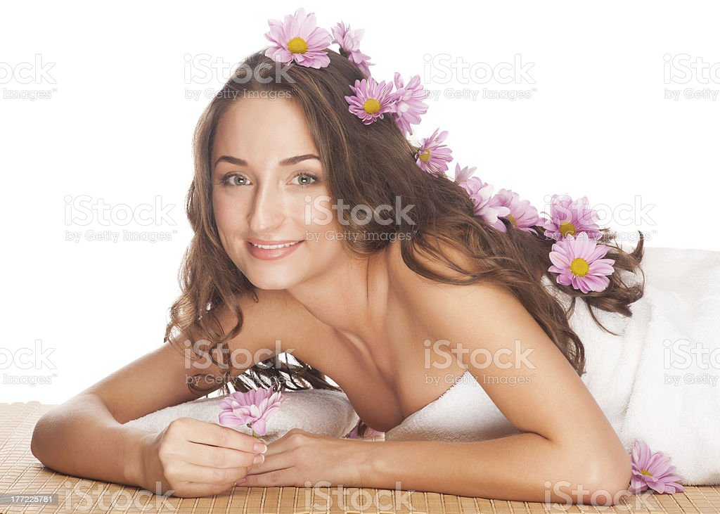 Spa woman royalty-free stock photo