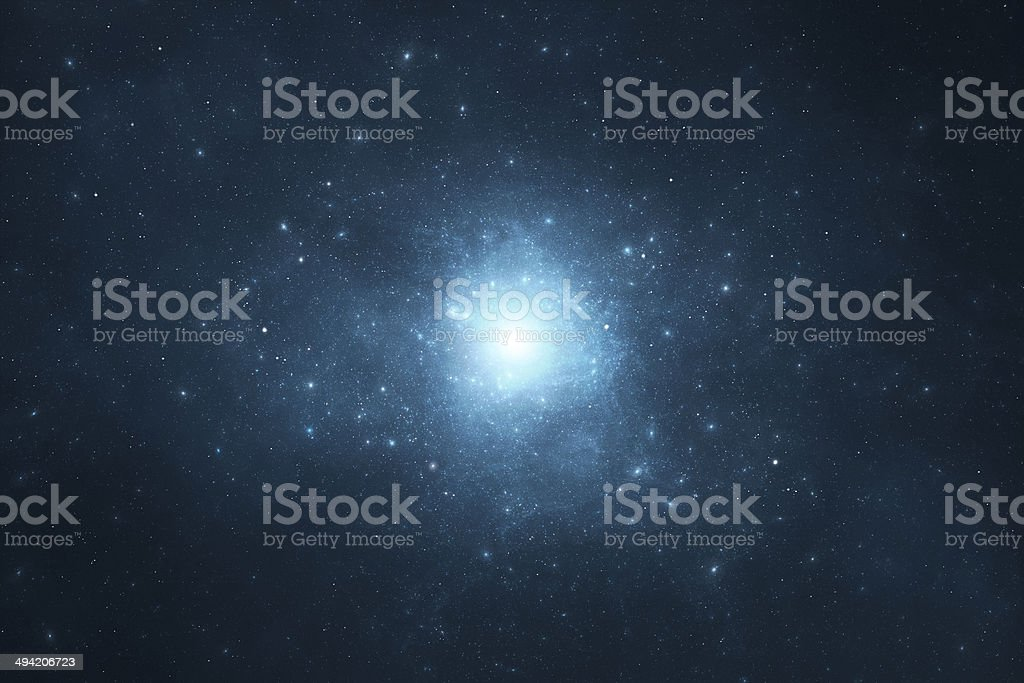 Space background - stars, universe, galaxy and nebula stock photo