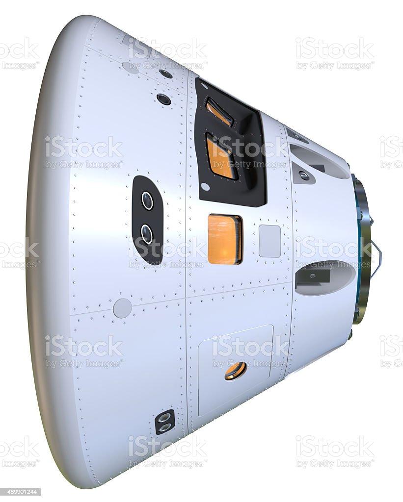 Space capsule stock photo
