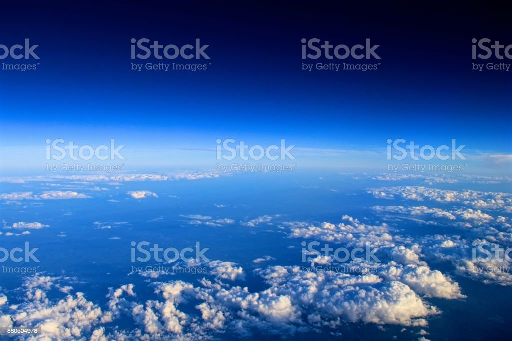 Space Clouds stock photo