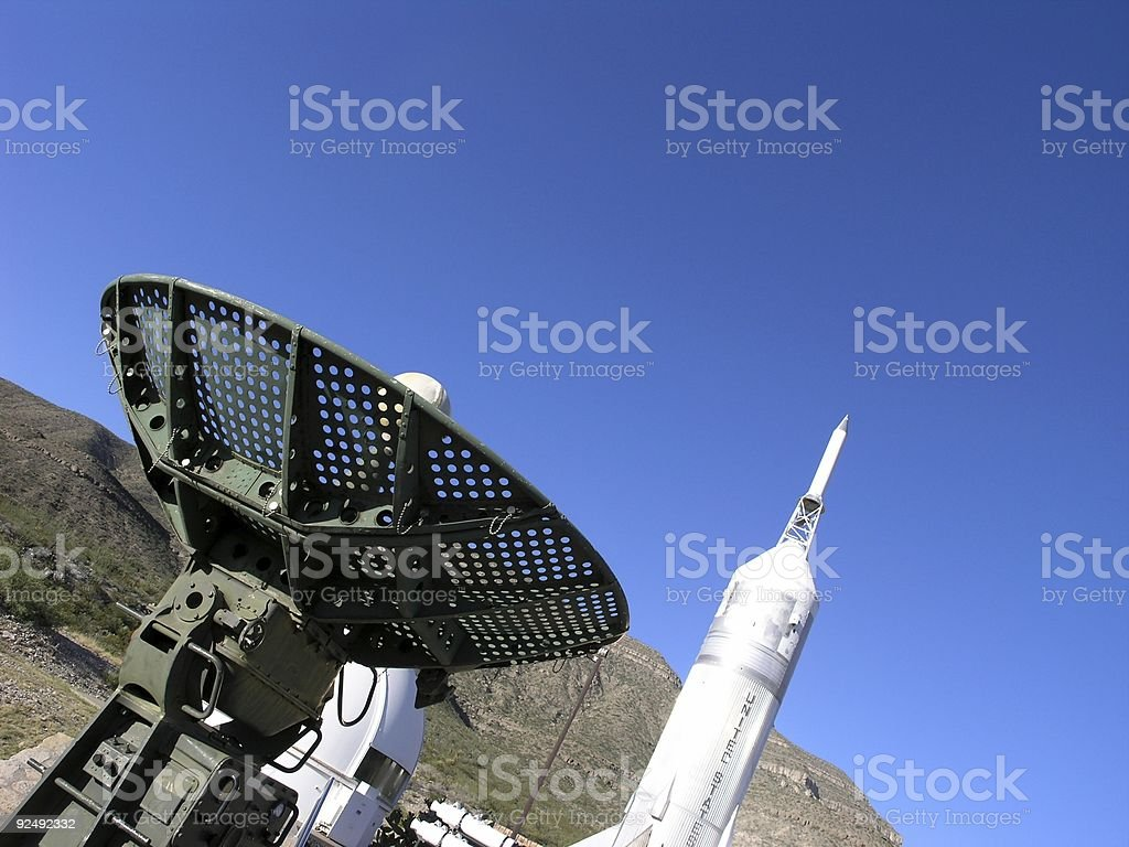 Space defence royalty-free stock photo