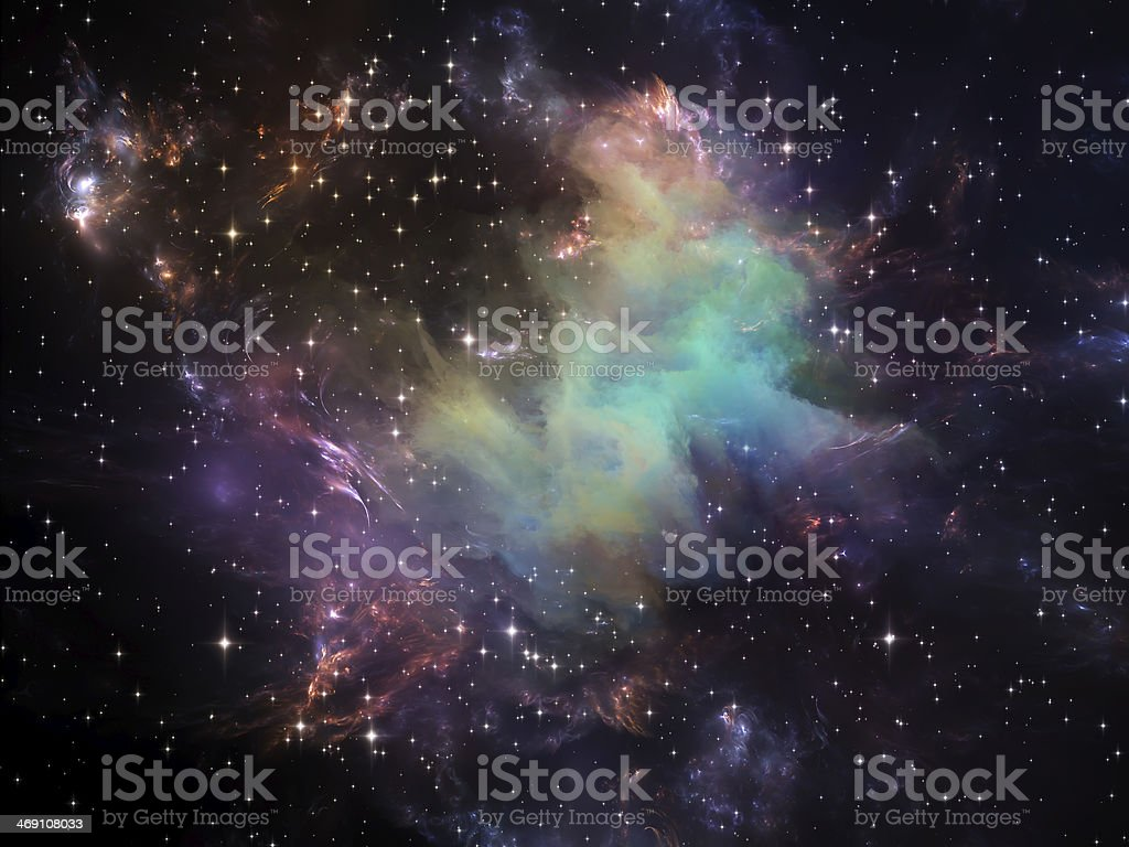 Space Energy stock photo