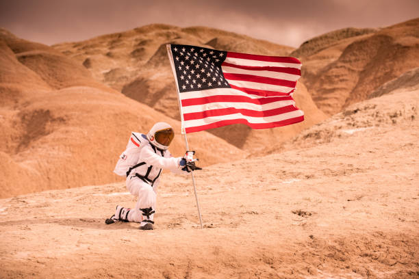 Space Exploration stock photo