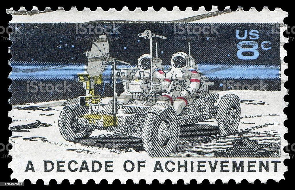 space explore: Lunar Rover (XXLarge) stock photo