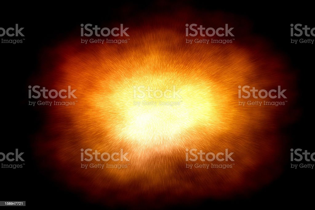 Space explosion illustration royalty-free stock photo