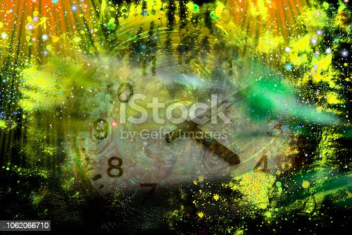 istock Space, fantastic background 1062066710