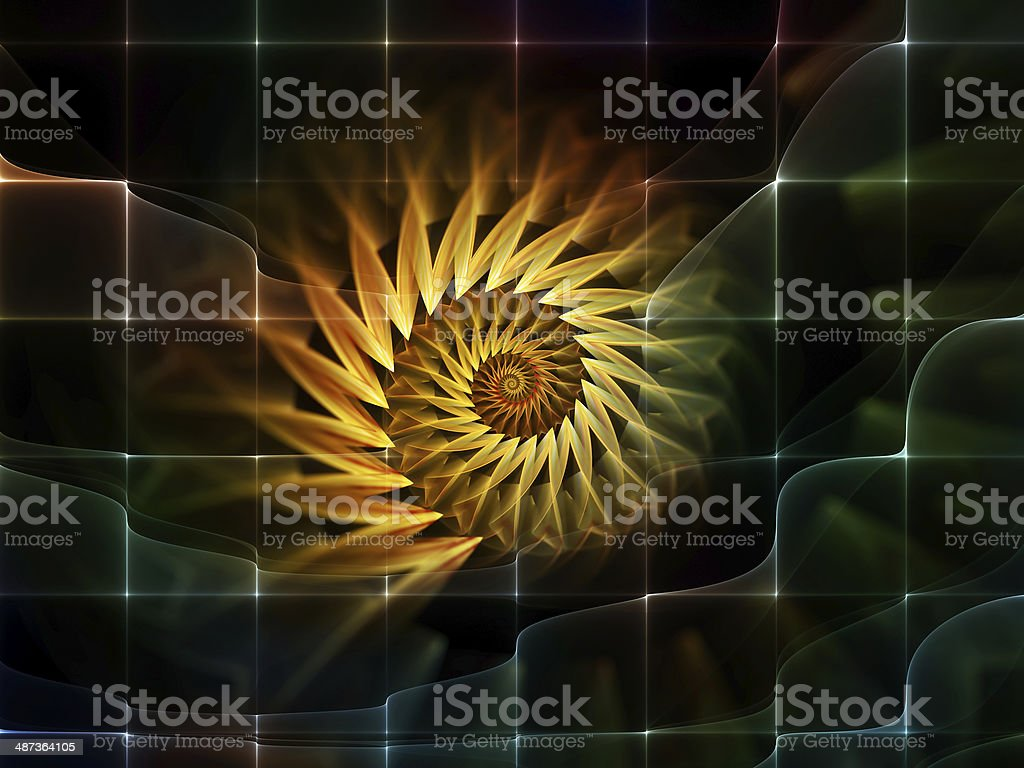 Space Fluctuation royalty-free stock photo