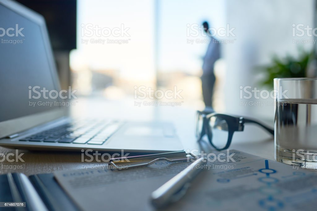 Space for business stock photo