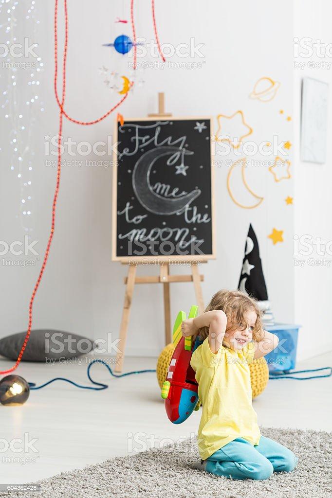 Space for creative fun stock photo