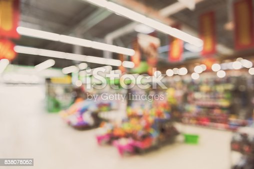 926078666 istock photo Space for selling products in store 838078052