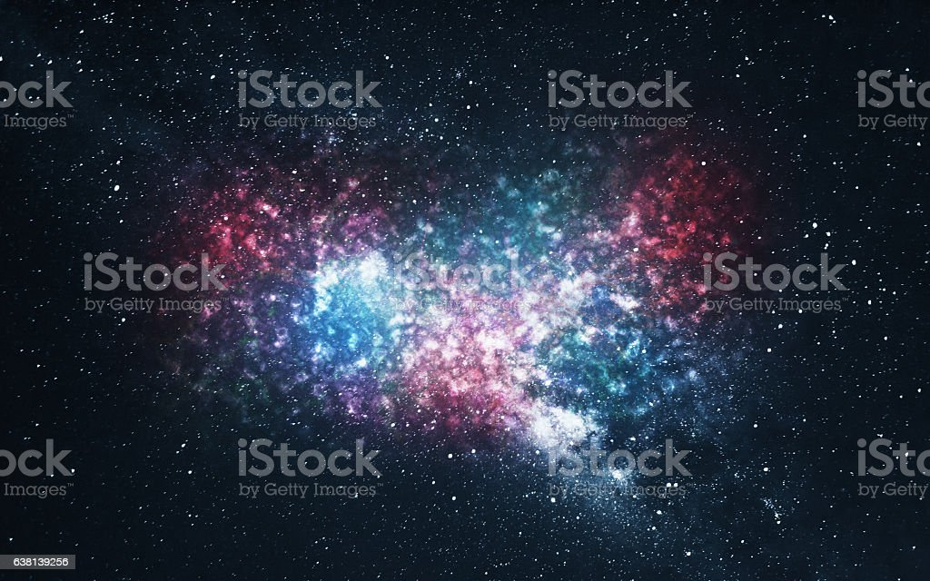 Space Galaxy Background stock photo