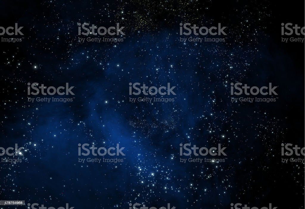 Space galaxy stock photo