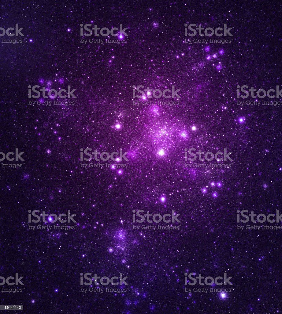 Space galaxy royalty-free stock photo