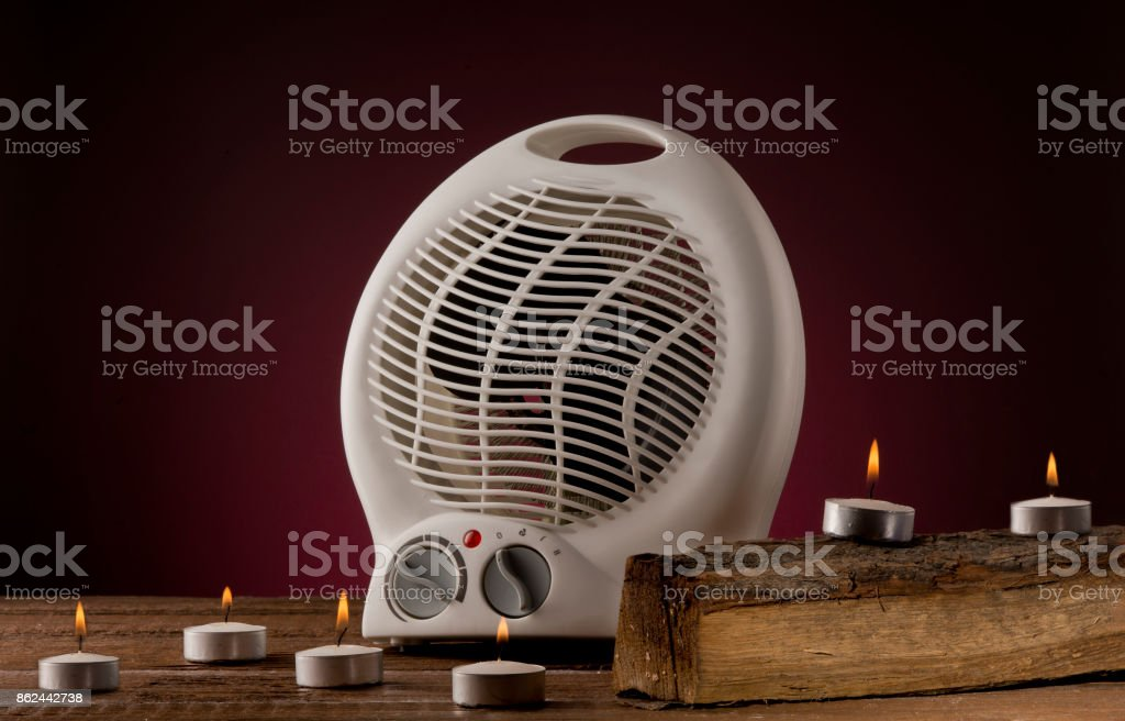 Space Heater stock photo