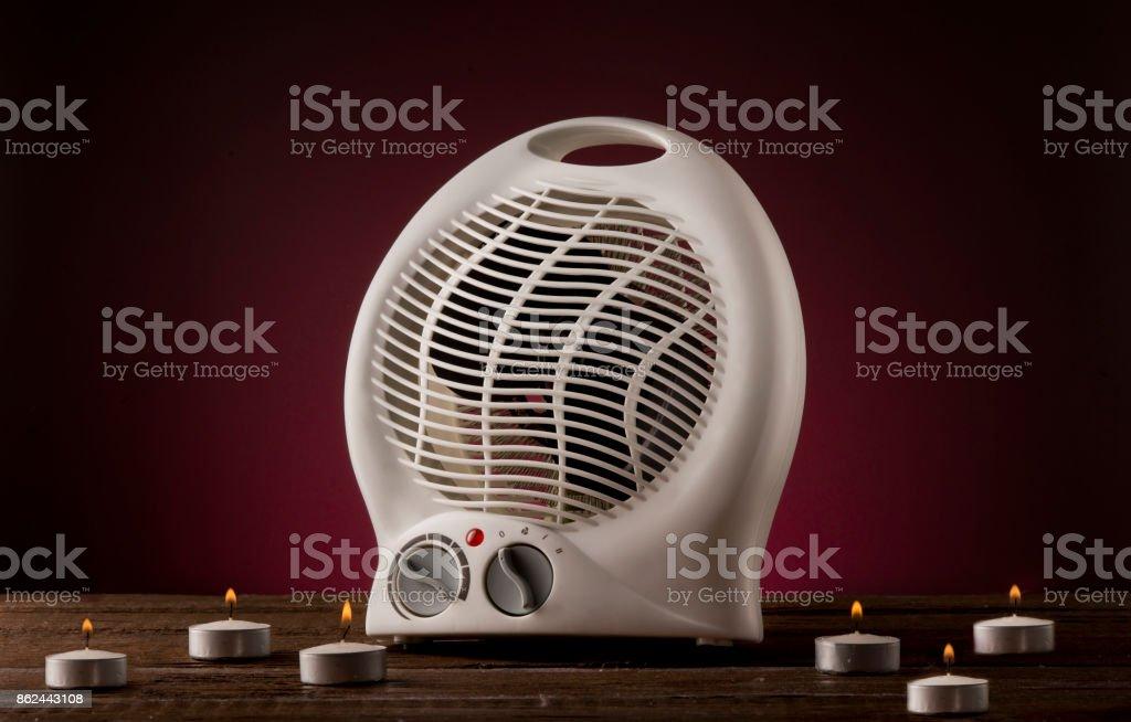 Space Heater stock photo