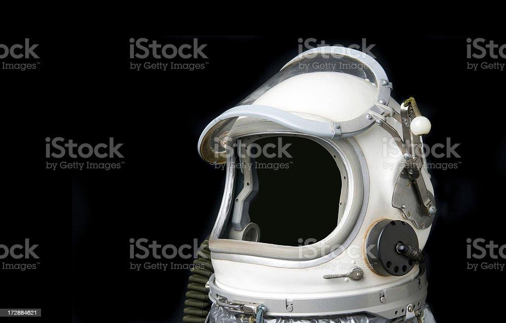 Casco da astronauta - foto stock