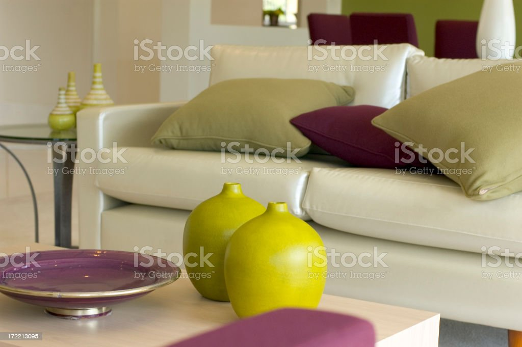 Space Lounge stock photo
