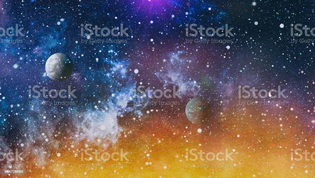 space many light years far from the Earth. Elements of this image furnished by NASA royalty-free stock photo