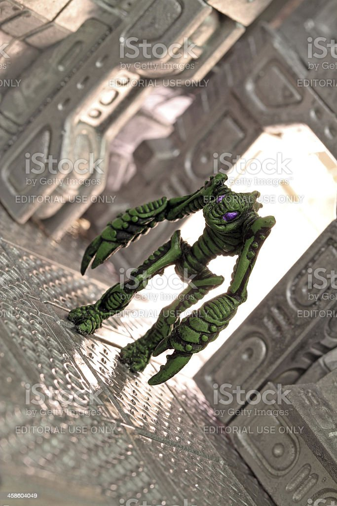 Space Monster royalty-free stock photo