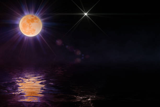 Space Moon - foto stock